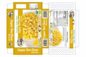 ORGANIC HAND-MADE THREE CHEESE MACARONI