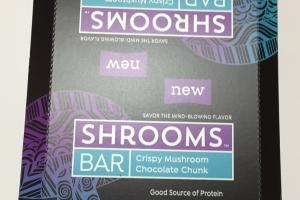Crispy Mushroom Chocolate Chunk Bar