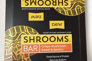 Crispy Mushroom Sweet & Savory Bar