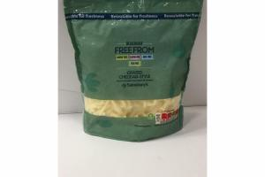 GRATED CHEDDAR-STYLE COCONUT-BASED ALTERNATIVE TO CHEESE