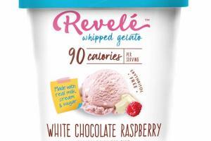 WHITE CHOCOLATE RASPBERRY WHIPPED GELATO