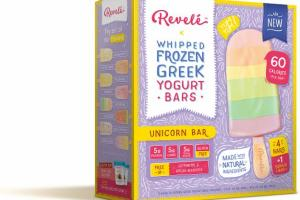 UNICORN WHIPPED FROZEN GREEK YOGURT BARS
