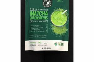 PREMIUM ORGANIC MATCHA SUPERGREENS SMOOTHIE BOOSTER