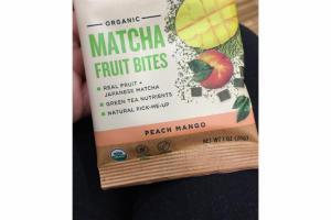 PEACH MANGO MATCHA FRUIT BITES