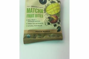 PEACH MANGO ORGANIC MATCHA FRUIT BITES