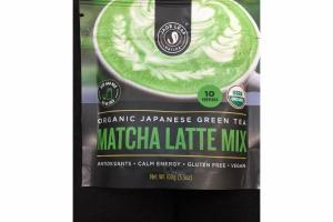 ORGANIC MATCHA LATTE MIX JAPANESE GREEN TEA