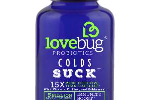 Colds Suck Probiotics Dietary Supplement