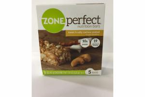 SWEET & SALTY CASHEW PRETZEL NUTRITION BARS