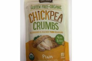 PLAIN ORGANIC CHICKPEA CRUMBS