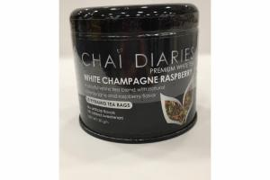 WHITE CHAMPAGNE RASPBERRY PREMIUM WHITE TEA
