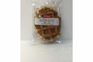 BELGIAN WAFFLE WITH SUGAR PEARLS