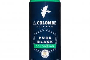 PURE BLACK COLOMBIAN LIGHT ROAST REAL COFFEE DRINK