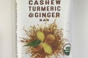 CASHEW TURMERIC & GINGER BAR