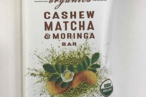 CASHEW MATCHA & MORINGA BAR