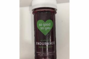 PROBIOTIC ENDURANCE WELLNESS SHOT ORGANIC COLD-PRESSED JUICE