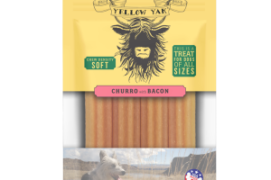CHURRO WITH BACON CHEW DENSITY SOFT TREAT FOR DOGS