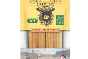 CHURRO WITH PEANUT BUTTER CHEW DENSITY SOFT TREAT FOR DOGS