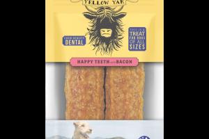 HAPPY TEETH WITH BACON CHEW DENSITY DENTAL TREATS FOR DOGS