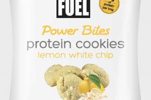 LEMON WHITE CHIP POWER BITES PROTEIN COOKIES