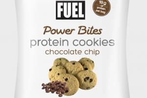 CHOCOLATE CHIP POWER BITES PROTEIN COOKIES
