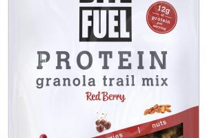 RED BERRY PROTEIN GRANOLA TRAIL MIX