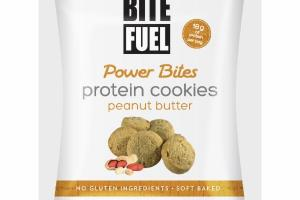 PEANUT BUTTER POWER BITES PROTEIN COOKIES