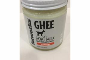 TRADITIONAL GOAT MILK GHEE
