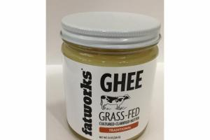 TRADITIONAL GRASS-FED CULTURED CLARIFIED BUTTER GHEE