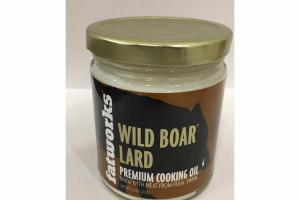 WILD BOAR LARD PREMIUM COOKING OIL
