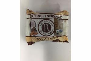CHOCOLATE BLONDE COCONUT DARK CHOCOLATE COCONUT ENERGY BAR