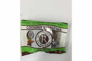 MINT DOUBLE CHOCOLATE COCONUT ENERGY BAR