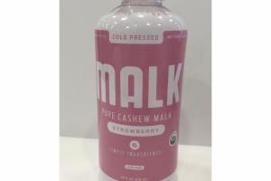 STRAWBERRY COLD PRESSED PURE CASHEW MALK