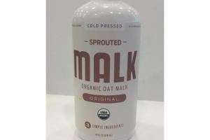 ORIGINAL SPROUTED ORGANIC OAT MALK