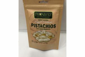 YOGURT COVERED PISTACHIOS