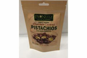 CHOCOLATE COVERED PISTACHIOS