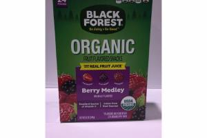 BERRY MEDLEY ORGANIC FRUIT FLAVORED SNACKS