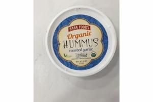 ORGANIC ROASTED GARLIC HUMMUS