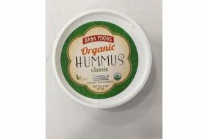 ORGANIC CLASSIC HUMMUS