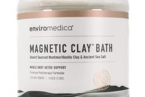 MAGNETIC CLAY BATH WHOLE BODY DETOX SUPPORT
