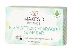 EUCALYPTUS CEDARWOOD SOAP BAR