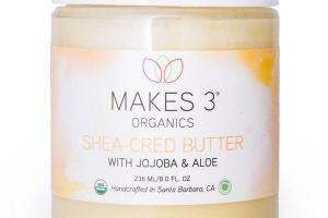 SHEA-CRED BUTTER WITH JOJOBA & ALOE