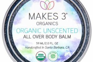 ORGANIC ALL OVER BODY BALM, UNSCENTED