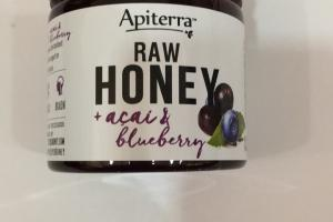 Raw Honey + Acai & Blueberry
