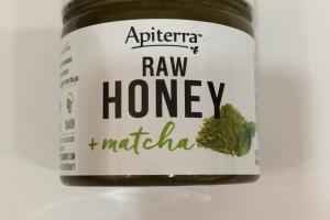 Raw Honey + Matcha
