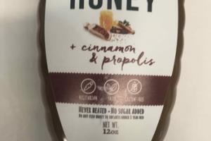 CINNAMON & PROPOLIS RAW HONEY