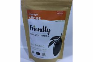 SWEET AND CHEWY ORGANIC MANGO SLICES