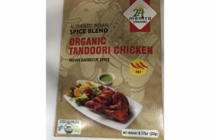 INDIAN BARBECUE SPICE AUTHENTIC INDIAN SPICE BLEND ORGANIC TANDOORI CHICKEN INDIAN BARBECUE SPICE