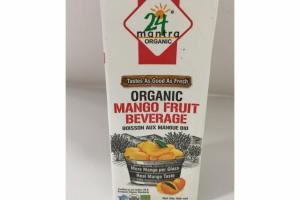 ORGANIC MANGO FRUIT BEVERAGE