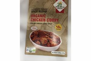MEDIUM ORGANIC CHICKEN CURRY AUTHENTIC SPICE BLEND