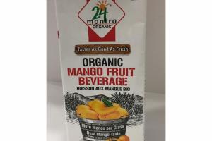 ORGANIC MANGO FRUIT BEVERAGE